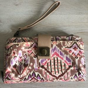 Sakroots Large crossbody phone wallet